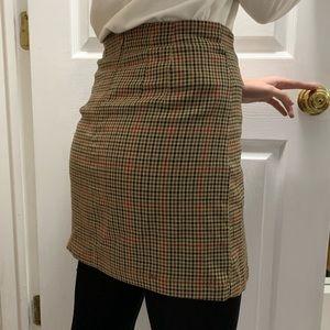 John Galt women's plaid Cara skirt